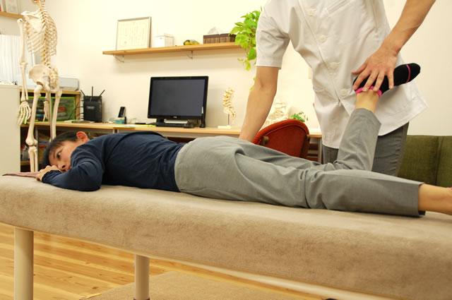 臀部筋(椎間板ヘルニアに対する 筋細胞リリース)イメージ